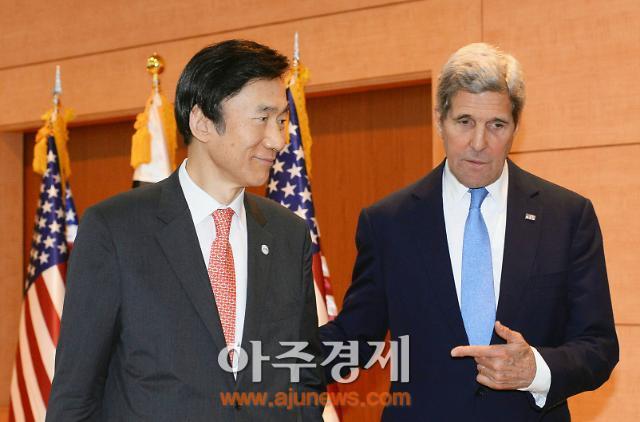 윤병세, 31일 존케리와 중국 전승절·남북합의·한미정상회담 의제 논의