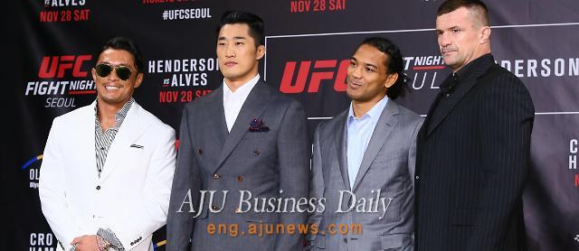 Star fighters to compete in UFC Seoul event