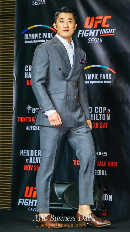 Stun Gun Kim Dong-hyun to face veteran fighter Jorge Masvidal in UFC event in Seoul in November