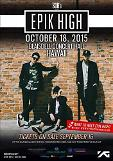 .Hip-hop trio Epik High to hold concert in Hawaii Oct. 18  .