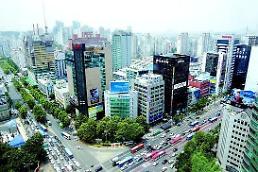 .韩国公布全境平均地价 江南仍是黄金之地.