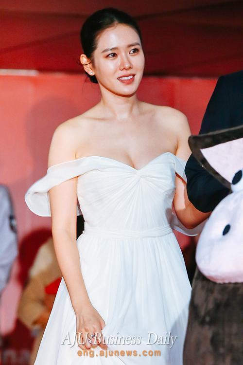 Actress Son Ye-jin at Busan film festival