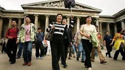 """.英国迎接中国游客签证推出""""两年多次签""""."""