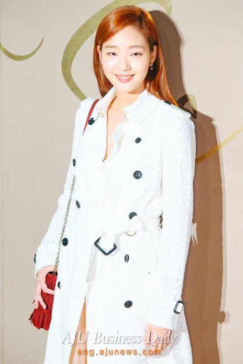 Actress Kim Go-eun at Burberry event in Seoul