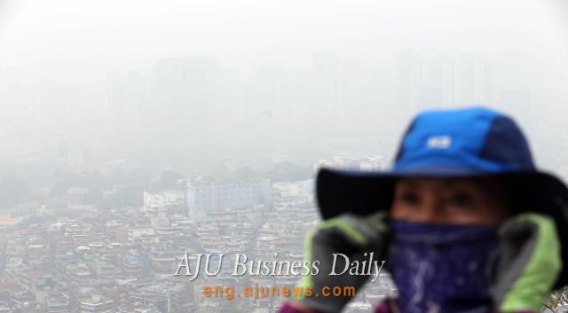 Fine dust blankets South Korea