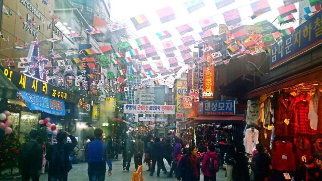 """来南大门传统市场体验不一样的""""乡土韩国"""""""