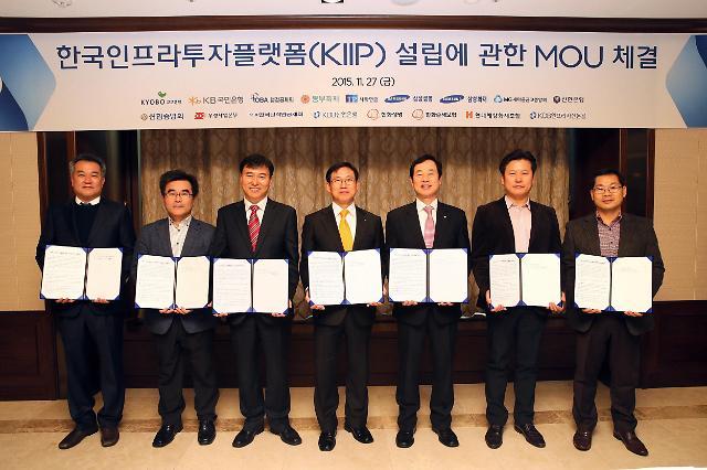 산은, 한국인프라투자플랫폼 설립…민간투자재원 14조5000억원 확보