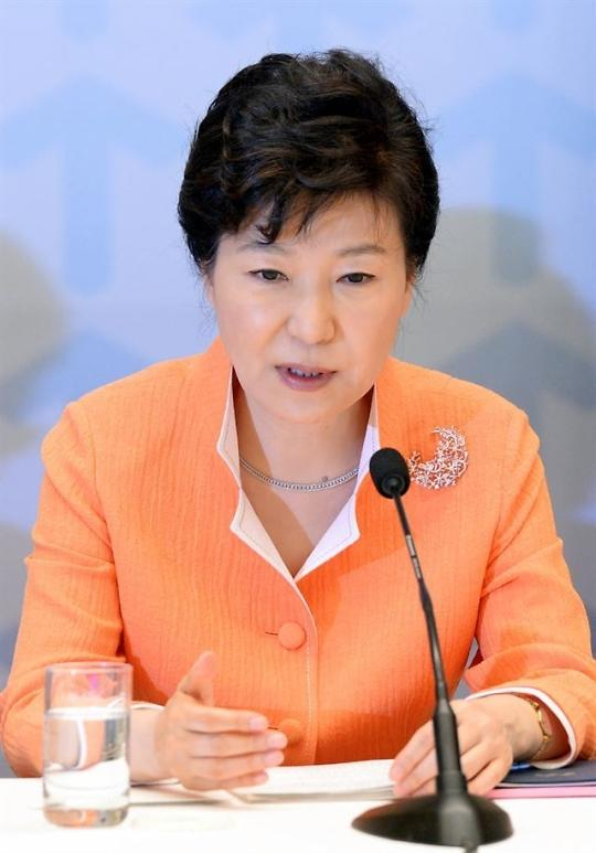 President Park vows to fight climate change