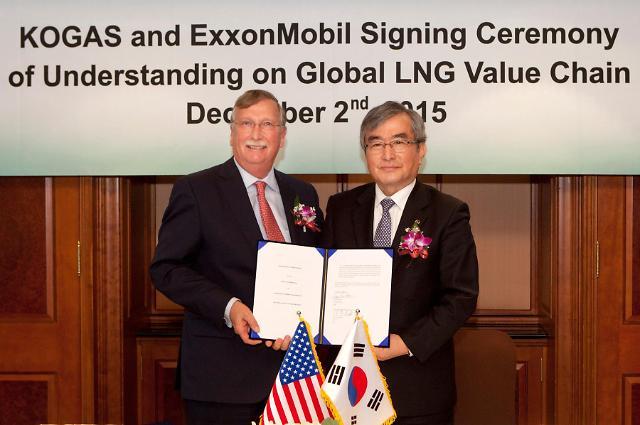 엑손모빌–한국가스공사, 신규 LNG사업 공동 발굴