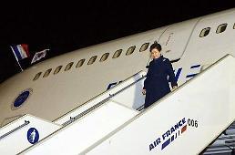 .朴槿惠抵达捷克会晤中欧四国领导.