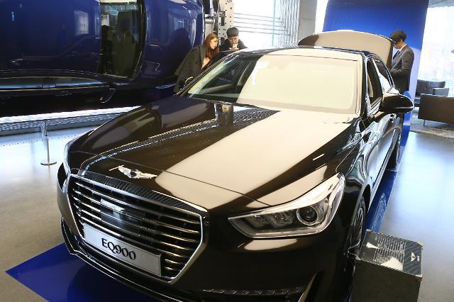 Hyundai Motors to release diesel version of Genesis