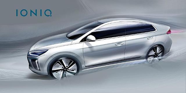 Hyundai reveals full electric vehicle - IONIQ