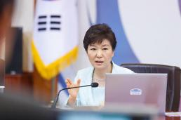 .President Park steps up rhetoric on labor reform bills.