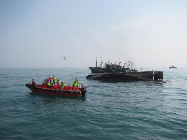 Five Chinese fishermen dead or missing in boat accident