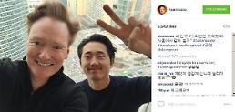 .'Walking Dead' star joins Conan's Korean adventure.