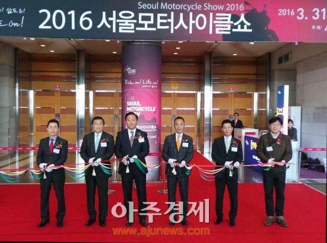 2016 서울모터사이클쇼, 공식 개막…나흘간 축제 돌입