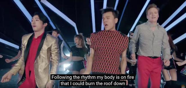 "[AJU VIDEO] JY Park drops ""Fire"" featuring Conan OBrien"