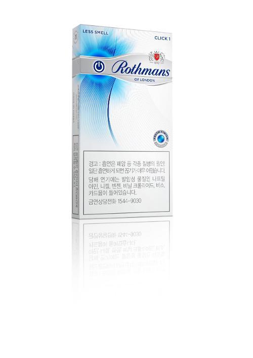 BAT 코리아, 로스만 수퍼슬림 클릭 4100원 판매