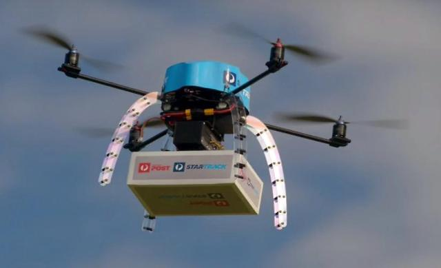 Australia Post tests drone delivery