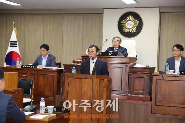 예산군의회! 제7대 후반기 의장에 권국상 의원 선출!