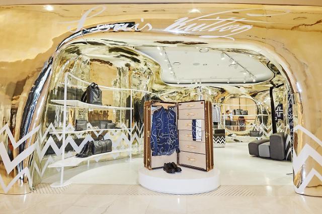 루이비통, 신세계 강남점에 남성 컬렉션 임시 매장 열어