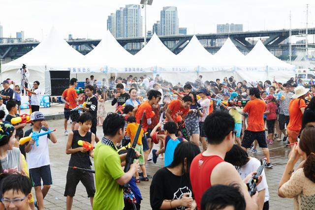 우린 한강으로 피서간다 15일부터 서울시 한강몽땅 여름축제 내용 한층 풍성해져