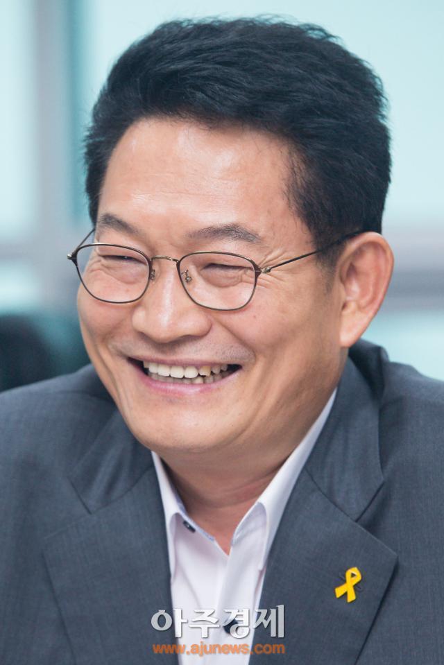 '더민주 당권주자' 송영길, 오늘 이재명 시장과 청년창업자 타운홀 미팅