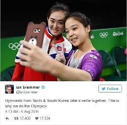 """.世界齐点赞 韩国17岁女子体操选手李恩珠演绎""""奥运外交"""" ."""