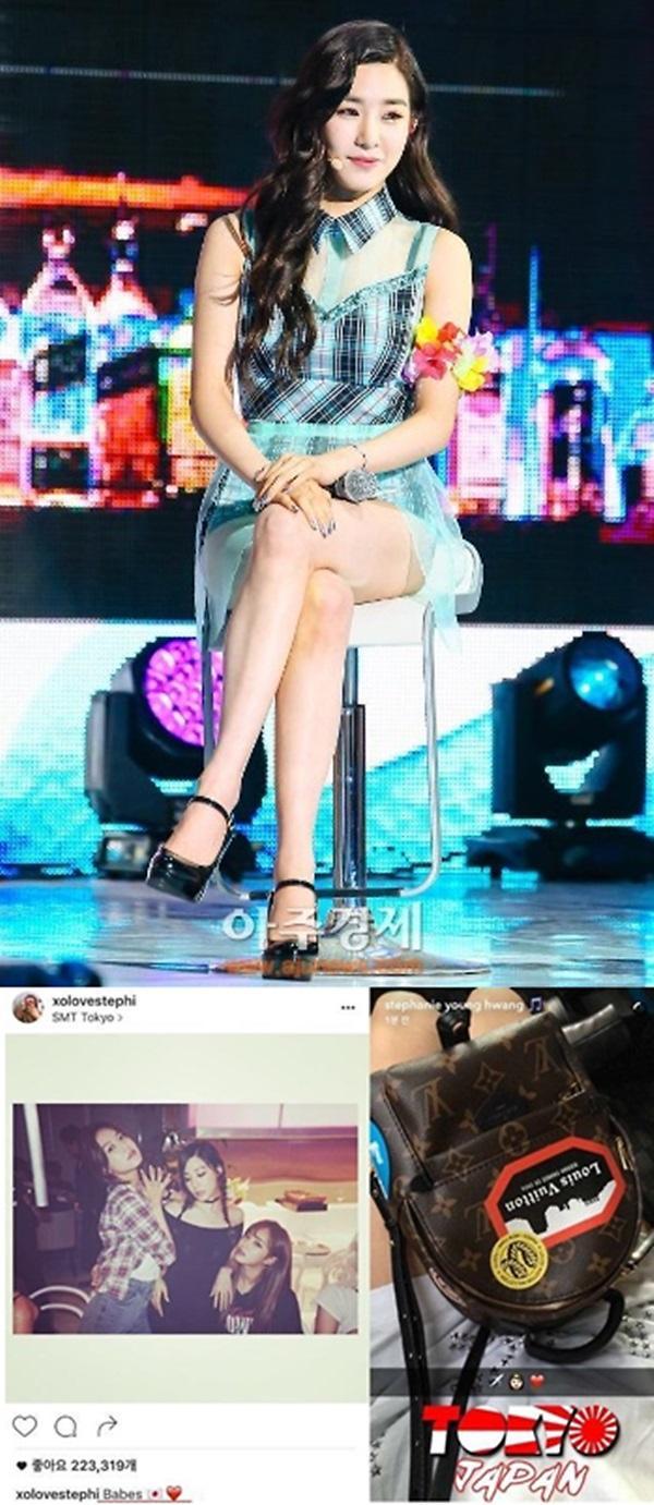 Girls Generation Tiffany under fire for Japanese flag emoticon