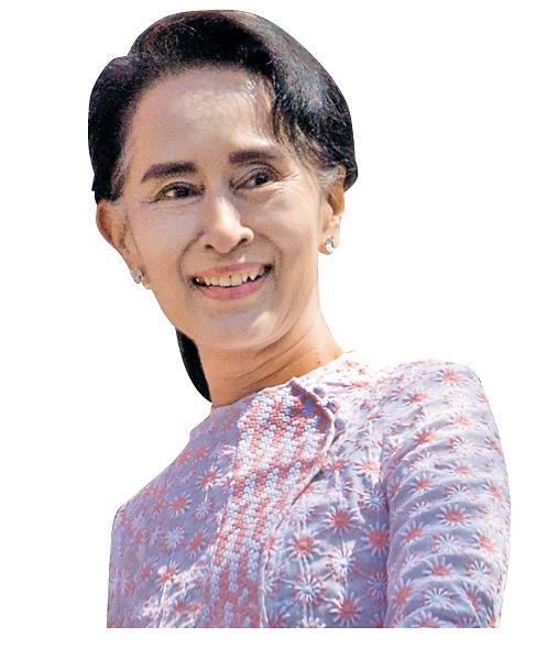 미얀마 아웅산 수치, 오늘 중국 방문...정상급 예우 눈길