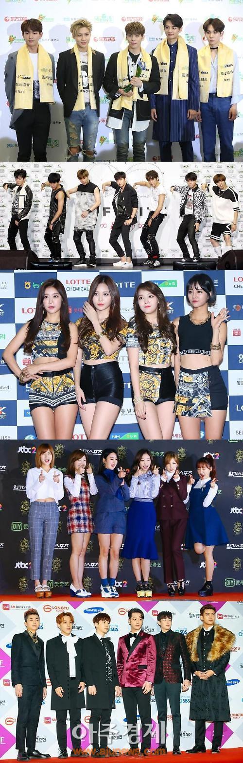 9월, 톱클래스 아이돌 그룹이 온다…샤이니부터 2PM까지