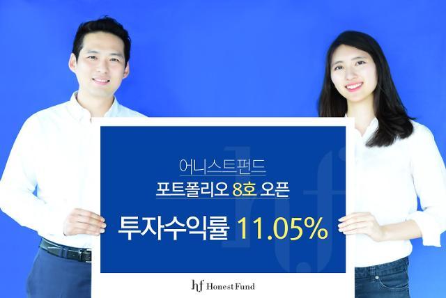 어니스트펀드, 투자수익률 11.05% 포트폴리오 투자 상품 출시