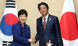 .韩日首脑会晤 强调韩美日共同应对朝核挑衅.