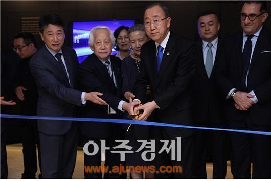 미래숲·한국교류재단, 유엔서 미래살리기 전시회 개최