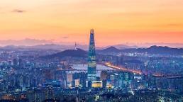 .123层高555米历时6年 韩最高建筑乐天世界塔外观全部完工.