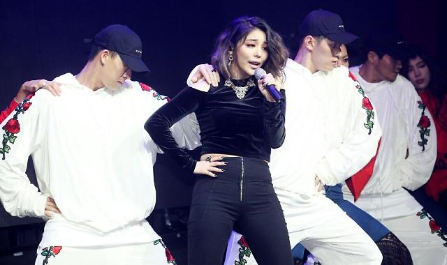 Ailee claims title of first female urban hip-hop artist: Yonhap