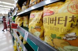 """.蜂蜜黄油薯片在韩受""""冷""""."""