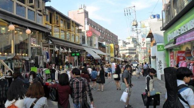 弘大一带或被指定为旅游特区 商户及艺术爱好者强烈反对