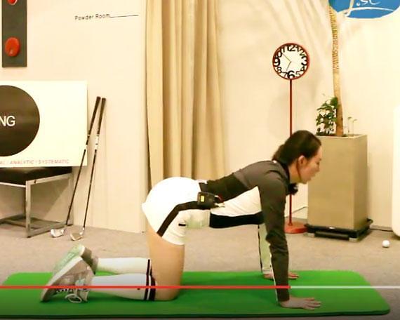 [골프 스트레칭 동영상] 17. 척추의 근력을 강화하는 동작