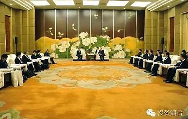 <산동성은 지금>일본 스미토모상사, 중국 옌타이시와 업무협의 [중국 옌타이를 알다(154)]