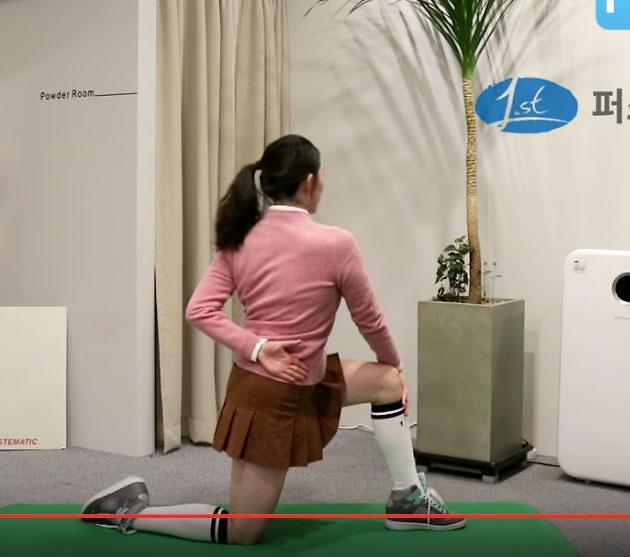 [골프 스트레칭 동영상] 26. 유연성과 근력을 길러주는 동작
