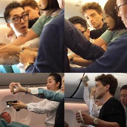 .Dunken Korean Air passenger faces criminal charges for in-flight rampage.