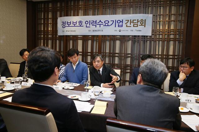 인터넷진흥원, 정보보호 인력수급난 해소 위한 기업간담회 개최
