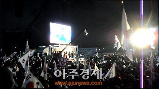 """[아주동영상]정미홍""""김대중ㆍ노무현은 탄핵돼야 했고 박근혜 탄핵은 막아야"""""""