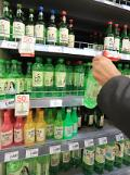 . Price hike infuriates soju lovers in S. Korea.
