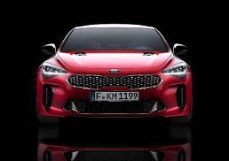 .Kia unveils premium performance sedan Stinger at Detroit Auto Show.