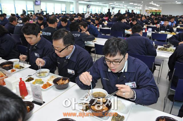 현대차 울산공장, 닭고기 소비 촉진 앞장