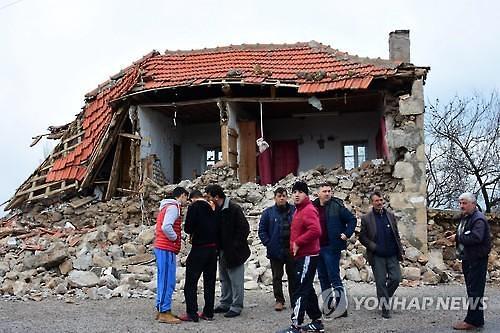 터키 차나칼레 등에서 규모 5 지진 연달아 발생