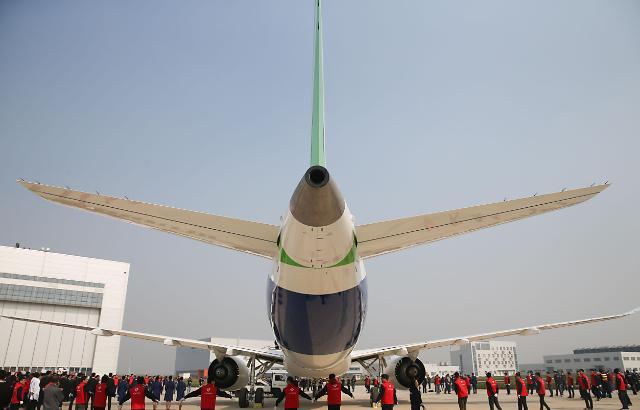중국산 여객기 C919 올 상반기 첫비행