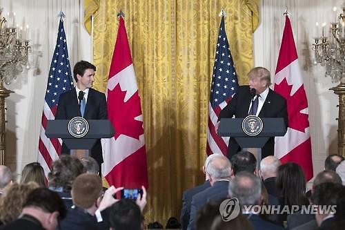 미·캐나다 정상회담 훈풍...캐나다, 트럼프發 관세 부담 여전